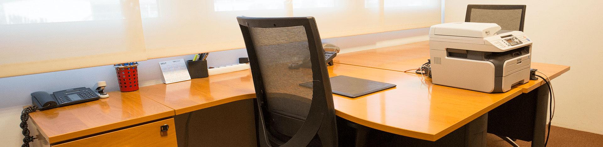 Alquiler de despachos con amplio acondicionamiento