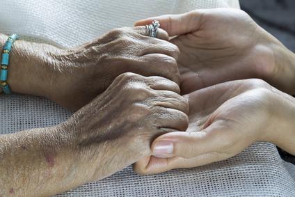 Foto de humanidad, pensionista